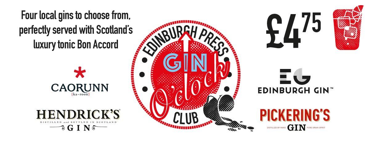 Various gin logos